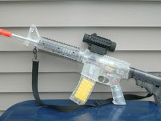 how to make a bb gun fully automatic