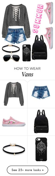 """Summer Where are You?"" by alexandrabryant004 on Polyvore featuring Fifth & Ninth, Vans and Radley"