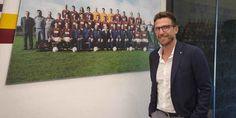 Calciomercato: DI FRANCESCO è il nuovo allenatore della ROMA Eusebio Di Francesco è ufficialmente il nuovo tecnico della Roma. Lascia il Sassuolo e firma un contratto con la società giallorossa fino al 2019. Verrà presentato ufficialmente alla stampa domani al #roma #calciomercato #difrancesco