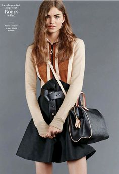 New Babes & Basics By Cyrille George Jerusalmi For Glamour France September 2014