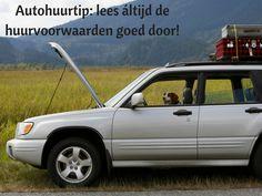 Waarom je áltijd de huurvoorwaarden goed moet doorlezen. #sunnycars #roadtriptip #autohuurtip