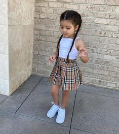 Outfits Niños, Cute Little Girls Outfits, Cute Baby Girl Outfits, Kids Outfits Girls, Toddler Girl Outfits, Cute Baby Clothes, Stylish Little Girls, Babies Clothes, Toddler Girl Style