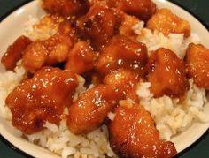 Tasty Orange Chicken- This slow cooker chicken is always a favorite!