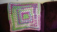 Dolls Blanket - Crochet creation by Tricia