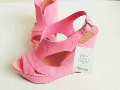 Pink Wedges <3