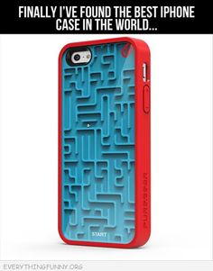 Funny Maze Phone Case - Keeps You Quietly Entertained Wherever You Are