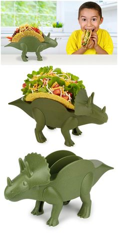 KidsFunwares TriceraTACO Taco Holder. #affiliate
