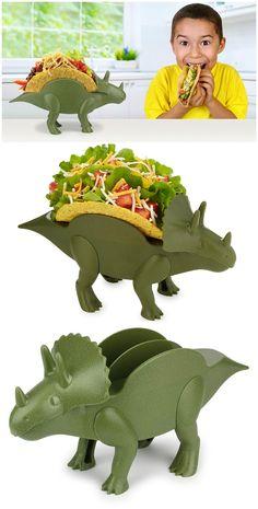 KidsFunwares TriceraTACO Taco Holder. #affiliate