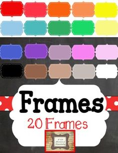 """These Frames are great fun and I know you will love them.  They will make your products look even better!!20 dashed background framespng image format included.Each image is 5x5"""". 300dpi photographic quality files.PLEASE READ:All items are saved individually and compressed into one zip folder."""