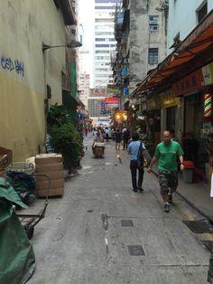 Wan Chai Market street scene - Hong Kong Sites: Wan Chai Market | A Life Shift