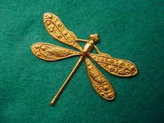 The wings on this dragonfly tell an entire story.