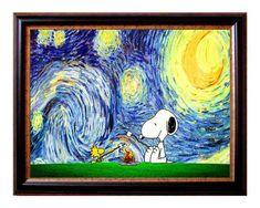 Diese Snoopy Sternennacht kinderzimmerdekor machen Drucke set eine perfekte Wandkunst für das Zimmer Ihrer kleinen zu. Sie werden von den jungen als auch älteren Kindern, machen sie eine perfekte Ergänzung zu ihrem Zimmer geliebt zu werden.  Innerhalb von 1-3 Tagen nach dem Kauf von