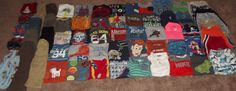 Huge 60pc Toddler Boy's 3T 4T 3-4 Clothing Lot Outfits Name Brands & Shoes #Gap #Everyday