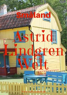 Alles, was ihr über die Astrid Lindgren Welt in Vimmerby/Smaland wissen  müsst - und warum wir nicht so begeistert waren :-/ #Smaland  #AstridLindgren #SchwedenmitKids