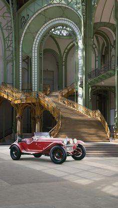 Bonhams : Autrefois propriété de Giuseppe Campari ,Alfa Romeo 6C 1750 à compresseur spider Gran Sport 1931 #cars