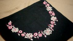 Hand embroidery on kurti