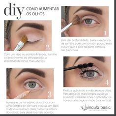 Os olhos são o elemento mais marcante do rosto e merecem atenção especial na hora da maquiagem. Então, confira este passo a passo prático e rápido que ensina como fazer uma maquiagem bem leve e natural nos olhos para deixar seu olhar mais vivo e atraente. #vinculobasic #tutorial