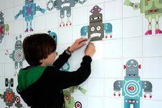 Decorar paredes con mosaicos