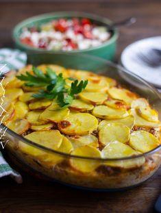 Turkish Recipes, Ethnic Recipes, Zeina, Moussaka, Gnocchi, I Love Food, Squash, Camembert Cheese, Potato Salad