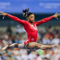 Sisimone Biles - Sports Woman Of The Year 2015