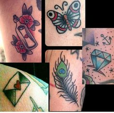 Various Filler Tattoo Ideas and Designs~