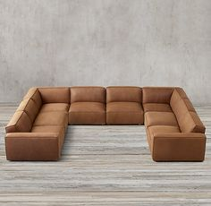 Muebles How to Modular Leather U-Sofa Sectional Selecting The Right Drapes For Your Home Article Bod Oversized Sectional Sofa, U Shaped Sectional Sofa, U Shaped Sofa, Leather Sectional Sofas, Modular Sectional Sofa, Living Room Sofa Design, Living Room Sectional, Living Room Designs, U Shaped Couch Living Room