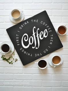Coffee Sign - Add th