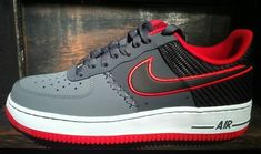 huge selection of 75d15 a3e7d Next week will see Nike release the latest edition of the Air Force 1 Low.  Giving the sneaker its look, the heel is textile woven with