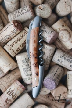 Our original Forge de Laguiole® Sommelier knife with a juniper handle and satin finish. Our authentic Sommelier knife was produced in collaboration with professional Sommeliers and thus gives it its ergonomics, elegance and efficiency.     #wine #sommelier #sommelierknife #winelovers #finewine #giftideas #giftsformen #redwine #whitewine #laguiole #laguioleknife #knife #waiter #waiterknife #forgedelaguiole #handmade #madeinfrance #worldcuisine #drinks #frenchwine