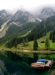 Lake Vorderer Gosausee, Salzburg