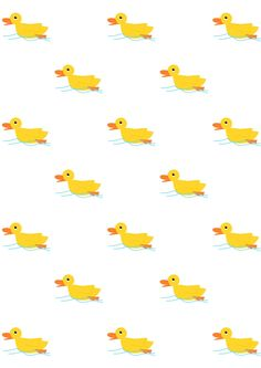 FREE printable #nursery pattern paper | #rubberduck