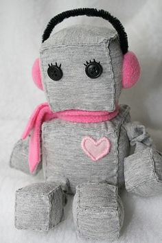 Who Doesn't Love a Stuffed Robot? (Nobody)
