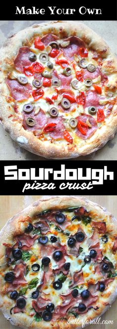 Get the recipe and learn the basic technique for making delicious Chewy Sourdough Pizza Crust (using sourdough starter, requires overnight proofing) Pizza Au Levain, Easy Sauce Recipe, Basic Recipe, Real Food Recipes, Cooking Recipes, Pizza Recipes, Cooking Games, Kitchen Recipes, Bread Recipes