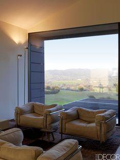 Cozy Minimalist Seating   ELLEDecor.com #MinimalistDecorTraditional Italian  Houses, Minimalist Living Rooms,