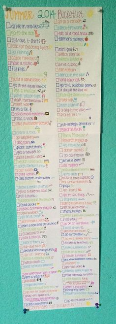 Inspo from our friends! next summers bucket list! Only one and a half more months of summer! :( enjoy it while you can!!!!!