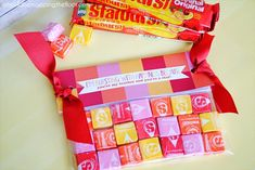 Starburst Teacher Gift and free printable #VIPFruitFlavors #CollectiveBias #shop