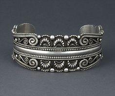 Bracelet | Rick Martinez (Navajo). Sterling silver