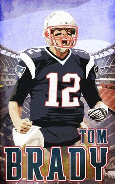 #TB12 #TomBrady #Brady #12 #PatsFanArt #PatriotsNation #PatriotsArt