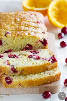 Cranberry Orange Bread - Taste and Tell