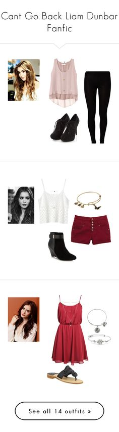 """""""Cant Go Back Liam Dunbar Fanfic"""" by taylor71012 ❤ liked on Polyvore featuring Majestic, Rebecca Taylor, women's clothing, women, female, woman, misses, juniors, Monki and J by Jasper Conran"""