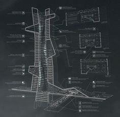 What If Dubai's Next Tower Were an Architecture School?,Courtesy of Evan Shieh, Ali Chen