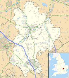 Mapa lokalizacyjna Bedfordshire