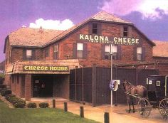 Kalona Cheese House along Hwy. 1 near Kalona, IA - YUMMY CHEESE CURDS!!!!! I love this place! Must go again soon!