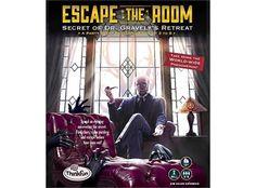 Escape the Room Secret of Dr Gravelys Retreat Brettspill. Escape the Room er et verdensfenomen som har gått fra digitale småspill på internett til store fysiske rom folk kan forsøke å bryte seg ut av ved hjelp av skjulte hint og objekter. Dette brettspillet lar deg ta spenningen og opplevelsen hjem til din egen stue!Året er 1913, og du er den heldige vinnerenav en gratis tur til Foxcrest Retreat, hvor den berømte Dr Gravely har laget det beste spa'et for behandling og ...