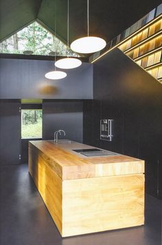 Cuisine d'architecte Kitchen Kulture via Nat et nature