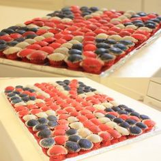Union Jack Mochi version for a London themed Party