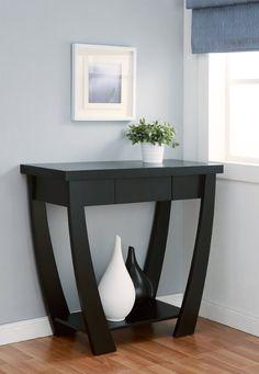 Amazon.com - Enitial Lab Bond 1-Drawer Console/Sofa Table, Black - Hallway Furniture