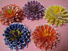 Como hacer flores dahlia de papel-1