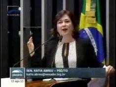 Kátia Abreu critica propaganda da Friboi