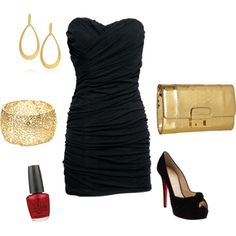 Night out in Vegas, created by leahjanssen on Polyvore